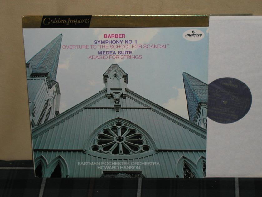 Hanson/ERO - Barber/Medea Mercury Golden Imports