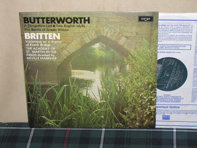 Marriner/AoStMitF - Butterworth/Britten UK Argo/Decca ZRG-850