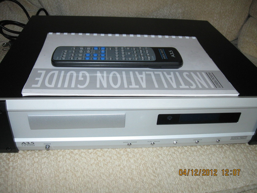 Musical Fidelity CD Player A3.5