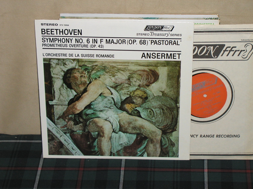 """Ansermet/L'OdlSR - Beethoven 6 """"Pastorale"""" London STS 15064 (Thick)"""