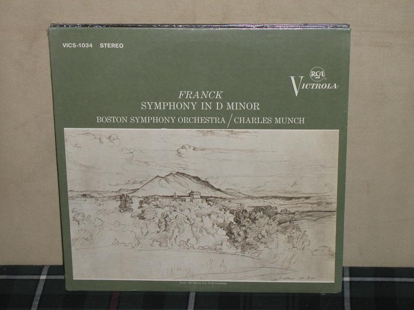 Munch/BSO - Franck Sym. in Dm SEALED RCA Victrola VICS-1034
