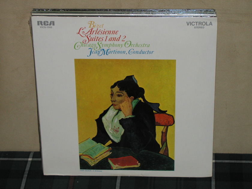 Martinon/CSO - Bizet L'Arlesienne SEALED RCA Victrola VICS-1593