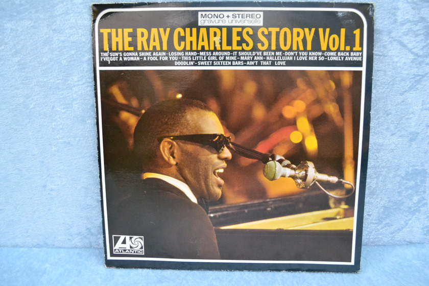 """RAY CHARLES - """"Ray Charles Story Vol. 1, Vol. 2"""" French import LP/Vinyl -lot of 2-"""