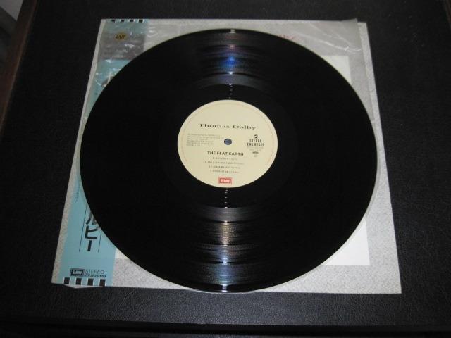 "THOMAS DOLBY LP/Vinyl - ""The Flat Earth"" japanese import"