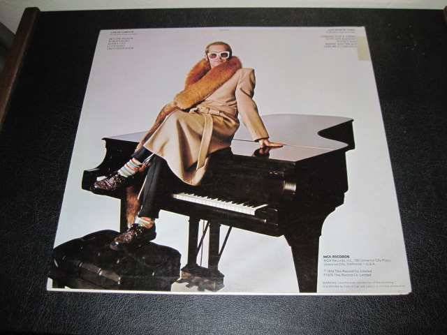 ELTON JOHN LP/Vinyl -lot of 2- - Goodbye Yellow Brick Road, Here and There