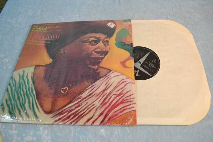 "ELLA FITZGERALD - ""The Rodgers and Hart Songbook""  LP/Vinyl"