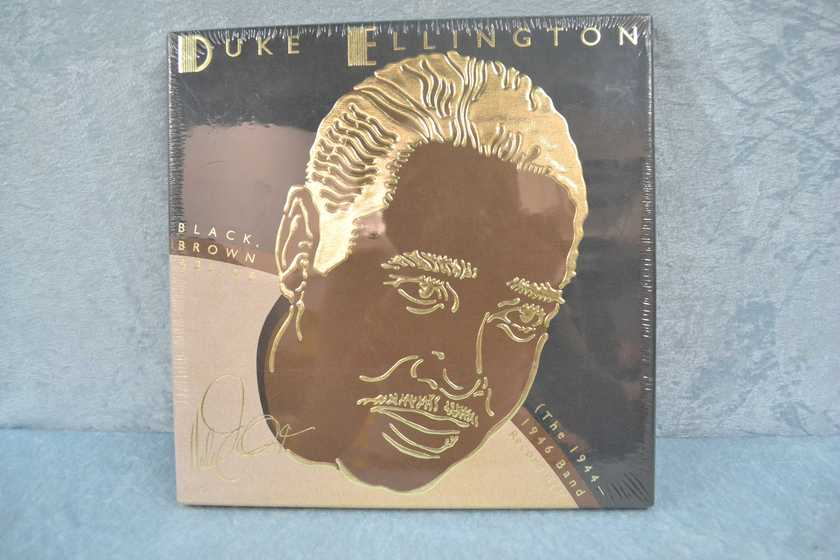 "DUKE ELLINGTON - ""Black, Brown & BLue 4 LP Box Set, The Pianist, Carnegie Hall Concerts, Early Ellington"" LP/Vinyl - lot of 4 - sealed"