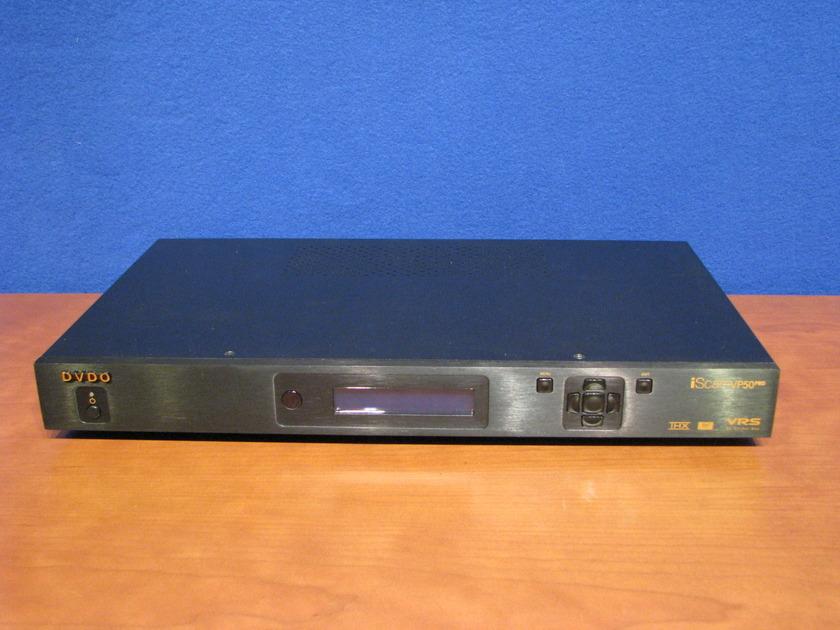 DVDO iScan VP50 Pro, It is the world's first THX Certified Video Processor