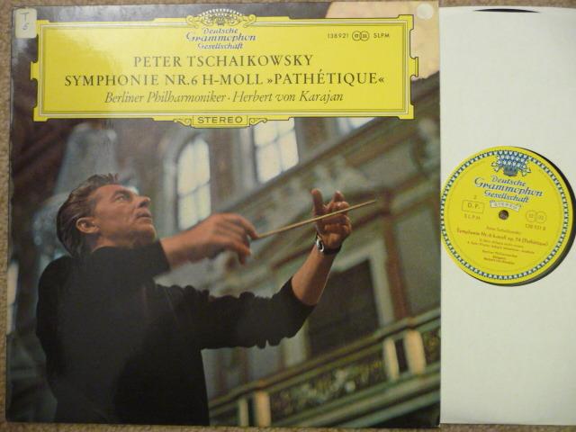Tchaikovsky  - Sym No. 6  DGG LP EXCEL