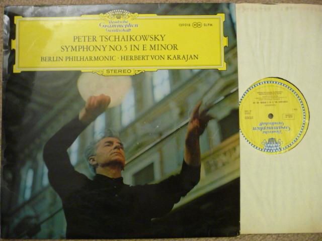 Tchaikovsky  - Sym No. 5 DGG LP EXCEL