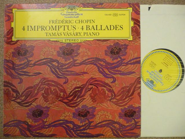 Chopin  - 4 Ballets DGG Tulip DGG LP EXCEL