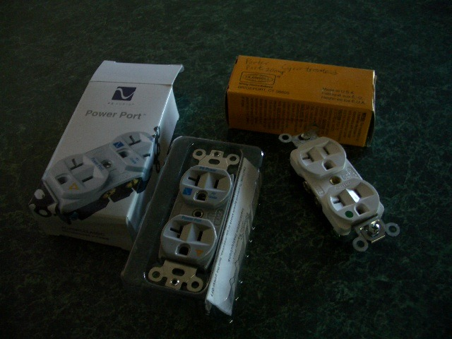 Porter Port and PS Audio Power Port 20 amp outlets