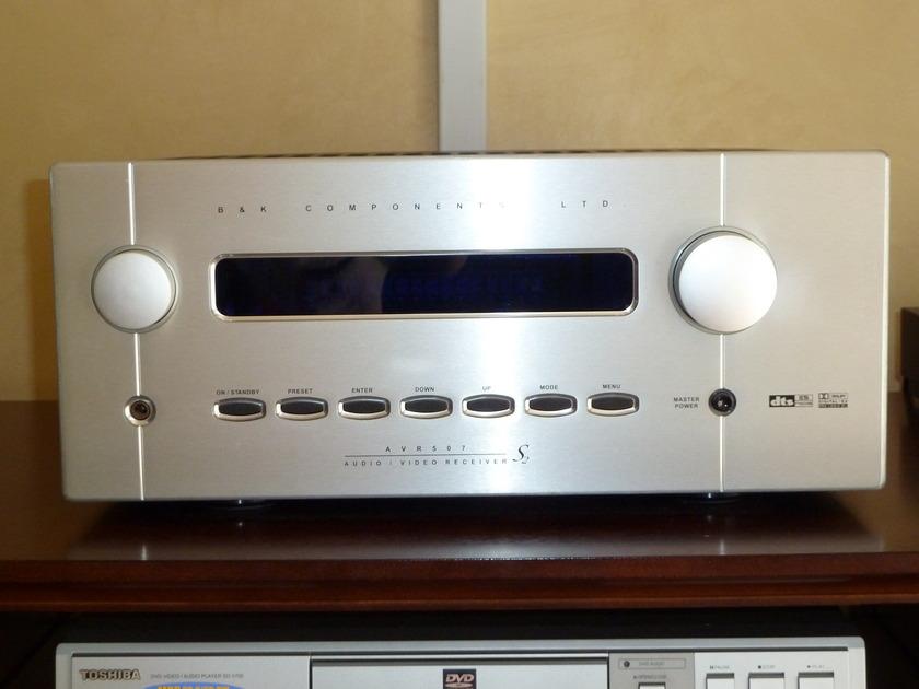 B&K  AVR 507 S2,,Silver