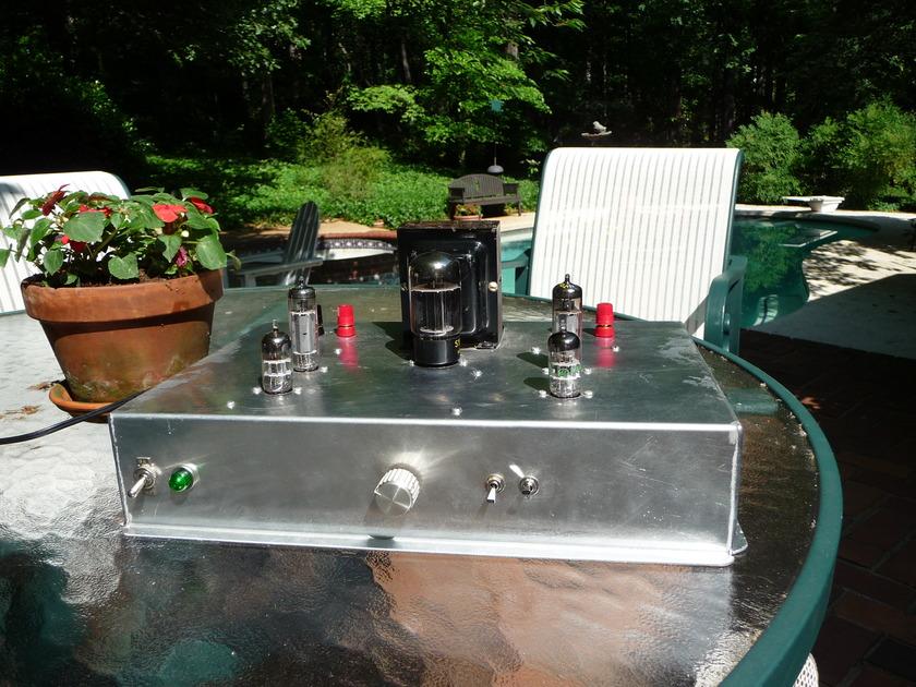 "Don Allen ""Cakepan"" EL-84 Triode (SET) Integrated Amp-Rare - Pics. ""Best Stuff"" collection."