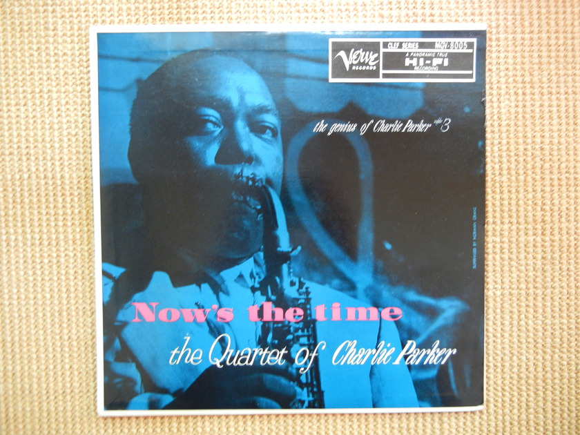 Charlie Parker - Now's The Time Verve MGV-8005