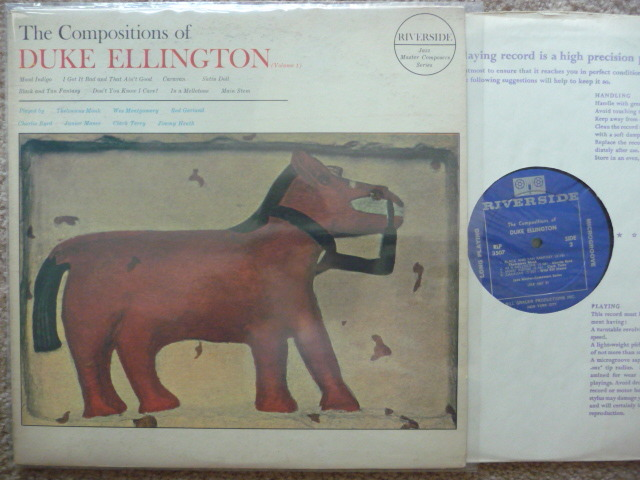 DUKE ELLINGTON  - THE COMPOSITIONS OF RIVERSIDE LP EXCEL