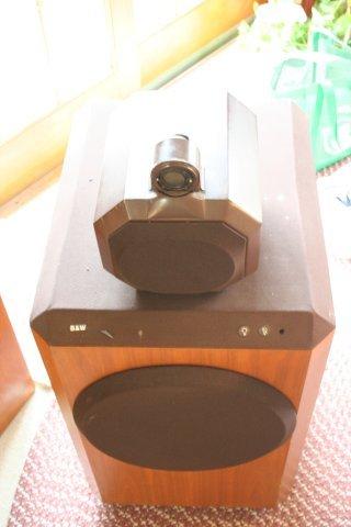 B&W 801 (c 1979) Speaker pair