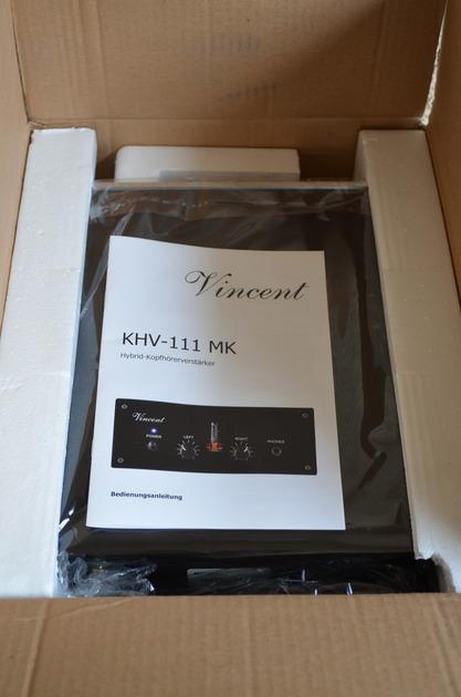 Vincent Audio KHV-111 MK Headphone Amplifier