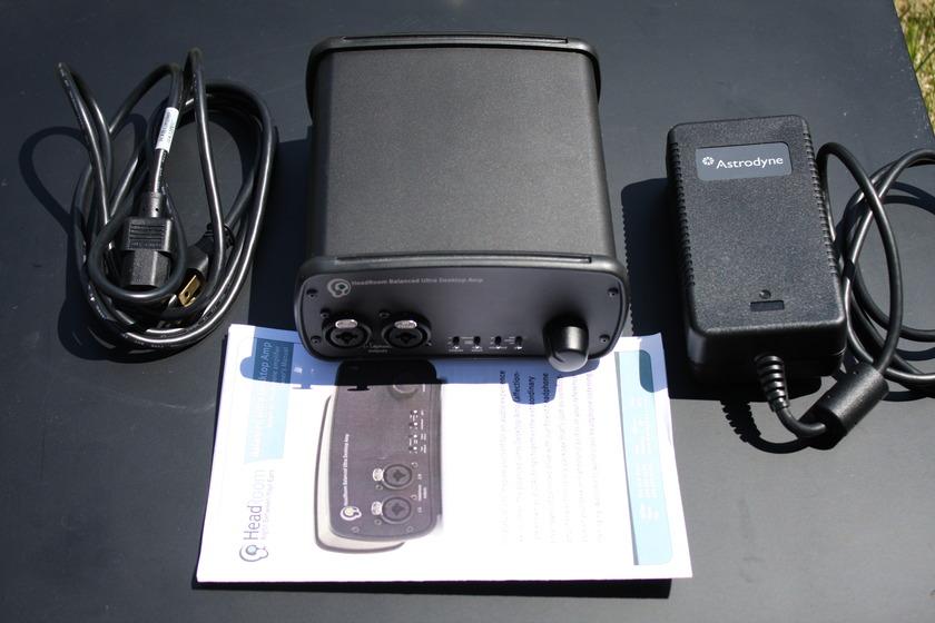 HeadRoom XLR Balanced Ultra Desktop Amp (BUDA) Headphone Amplifier