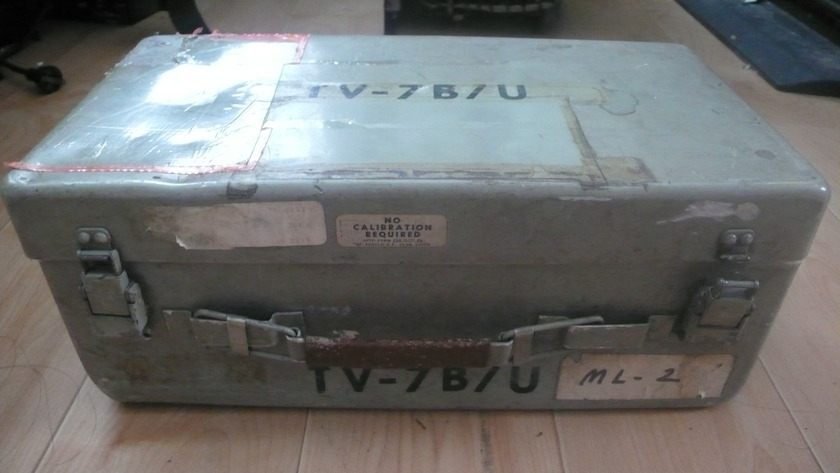 Hickok TV-7B military tube tester