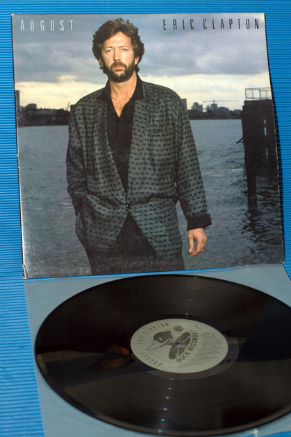 "ERIC CLAPTON -  - ""August"" -  Duck Records 1986"