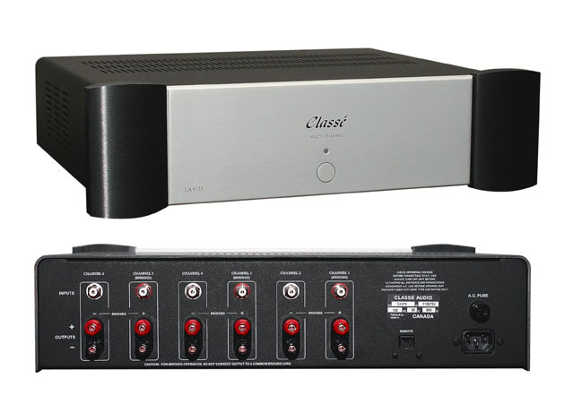 Classe CAV-75 Multi Channel Amplifier 6 x 75w or 3 x 150w Seattle Hi-Fi