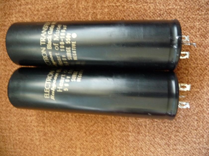 Black gate WKZ 100uf-100uf 550v Used, good working order.
