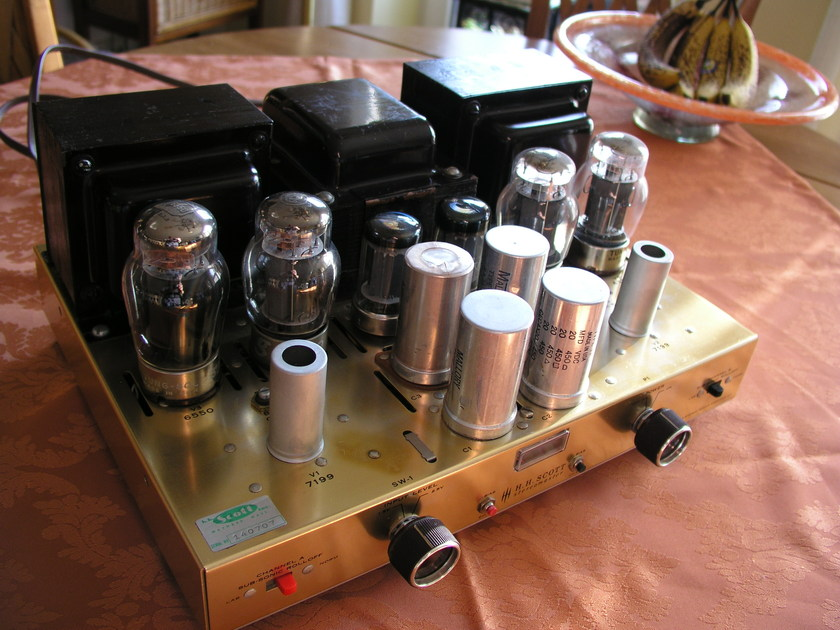 SCOTT LK-150 Tube Stereo Amplifier
