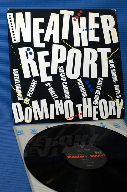 """WEATHER REPORT -  - """"Domino Theory"""" -  CBS/Sony 1984 import"""