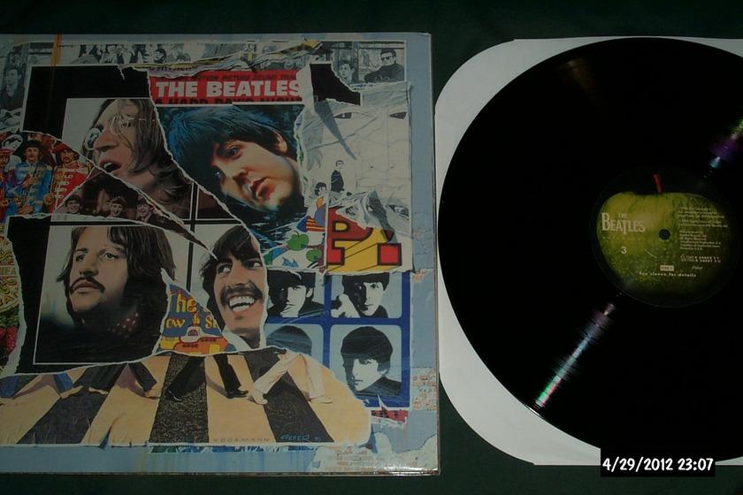 Beatles - Anthology Vol 3 3 lp set apple  vinyl nm
