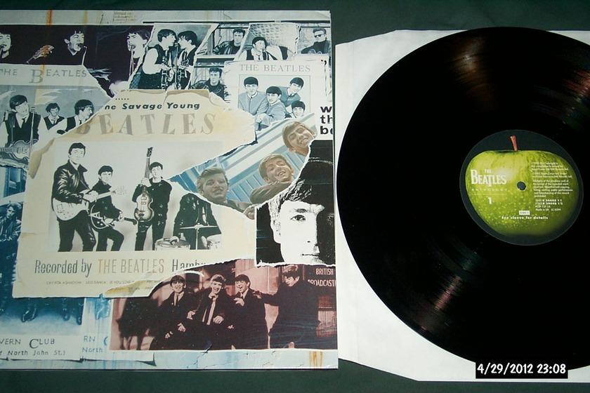 Beatles - Anthology Vol 1 3 lp set apple uk vinyl nm