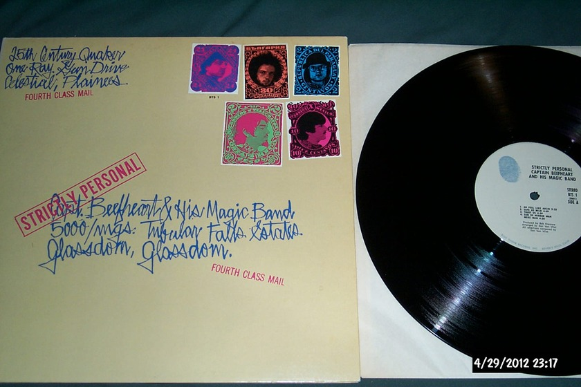 Captain Beefheart - Strictly Personal lp nm 1973