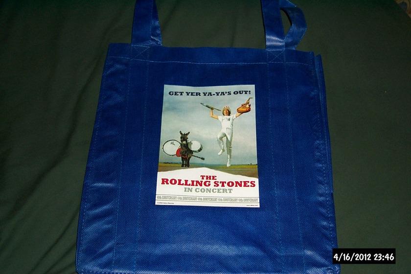 Rolling Stones - Promo Get Yer Ya ya's out lp bag