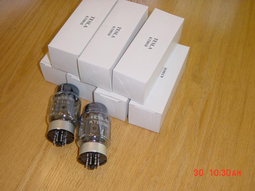 TESLA KT88 SB - seven tubes