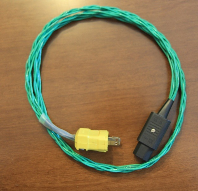 Jena Labs Power 6 braid 3 feet ungrounded