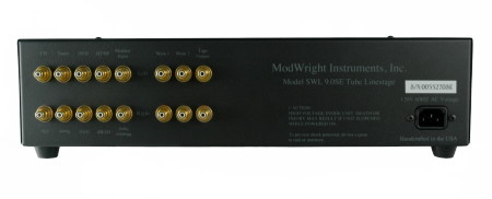 Modwright Swl9.0se Vacuum Tube Preamp(buy the legend) absolutely brand new - factory sealed