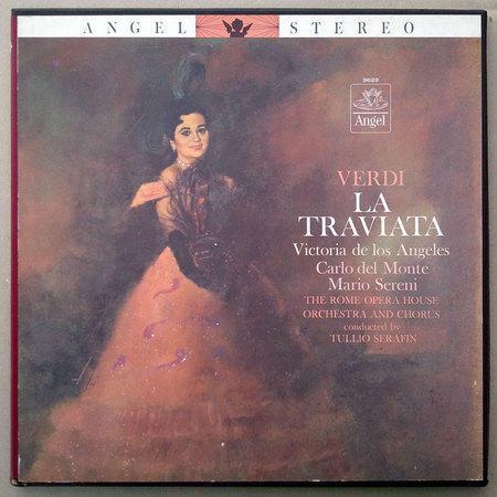 ANGEL BLUE   SERAFIN/VERDI - La Traviata / 3-LP / NM