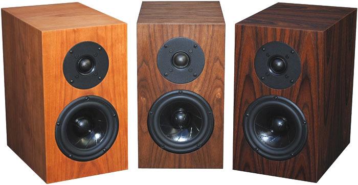 FRITZSPEAKERS REV 5 ScanSpeak monitors with series crossovers in custom cabinets
