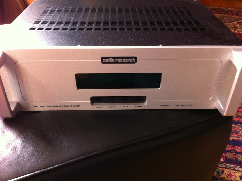 Audio Research PH 7 Phono Preamp in Silver