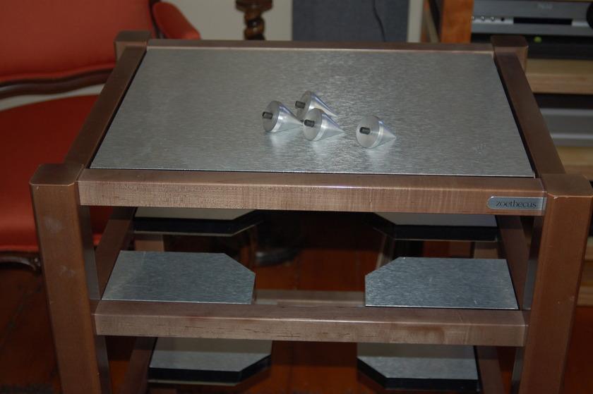ZOETHECUS 4 shelf rack
