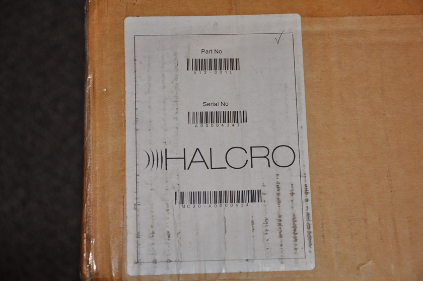 Halcro MC20 High End 2 Channel Amplifier
