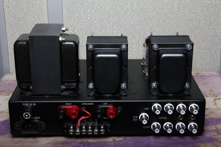 Wright Sound AU-215-I vacuum tube 15W stereo amp