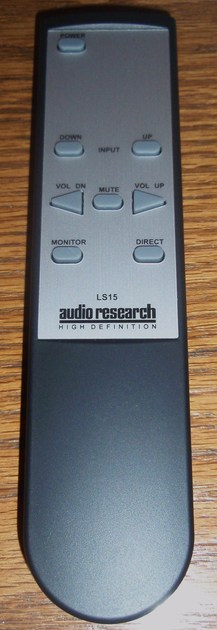 NEW AUDIO RESEARCH REMOTE CONTROL FOR LS15 AND MORE!! RETAIL IS $155.00!