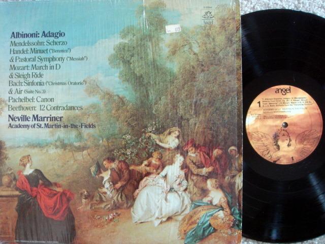 EMI Angel / MARRINER, - Albinoni Adagio, NM-!