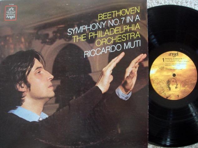 EMI Angel / MUTI, - Beethoven Symphony No.7,  NM!