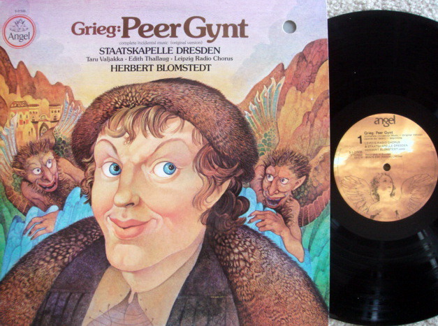 EMI Angel / BLOMSTEDT, - Grieg Peer Gynt, NM!
