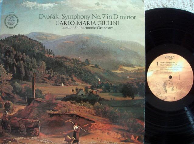 EMI Angel / GIULINI, - Dvorak Symphony No.7,  NM!