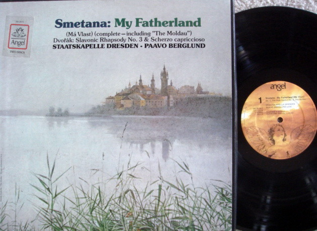 EMI Angel / BERGLUND, - Smetana Ma Vlast,  NM, 2LP Box Set!