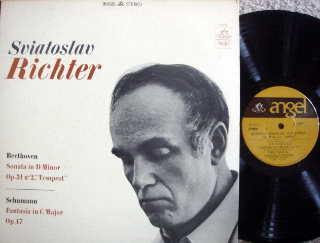 EMI Angel / RICHTER,  - Beethoven-Schumann Piano Sonatas, NM!