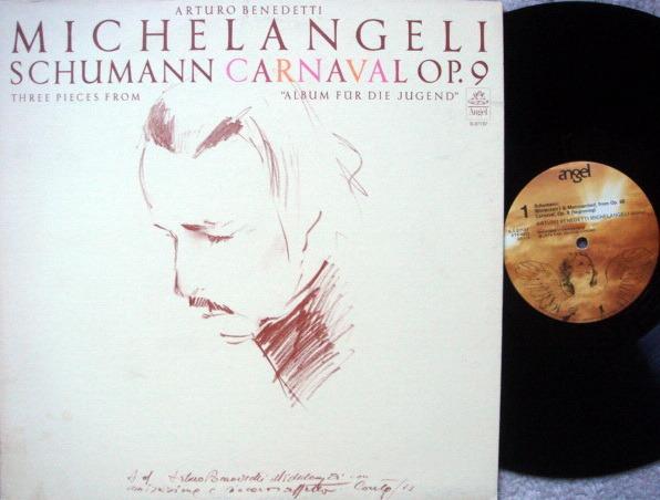 EMI Angel / MICHELANGELI, - Schumann Carnavel,  NM!